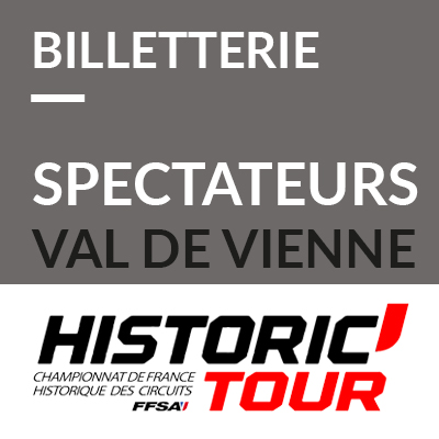 9. Billetterie spectateurs Historic Tour Val de Vienne 2019 ref:70600021S1