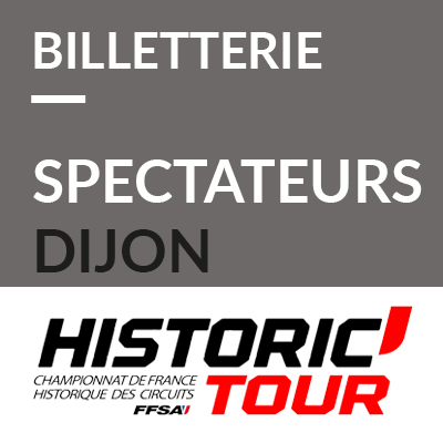 1. Billetterie spectateurs Historic Tour Dijon 2020 ref:70600023S1