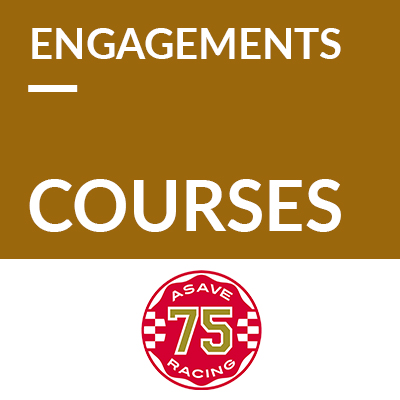 Engagements courses 2021 - ASAVE Racing '75 ref:70600084
