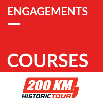Engagements courses 2021 - 200 km de l'Historic Tour ref:70600090S3